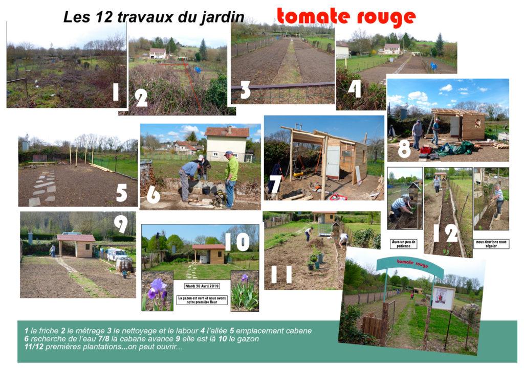 Le jardin Tomate Rouge - Association C.CHATELCENSOIR